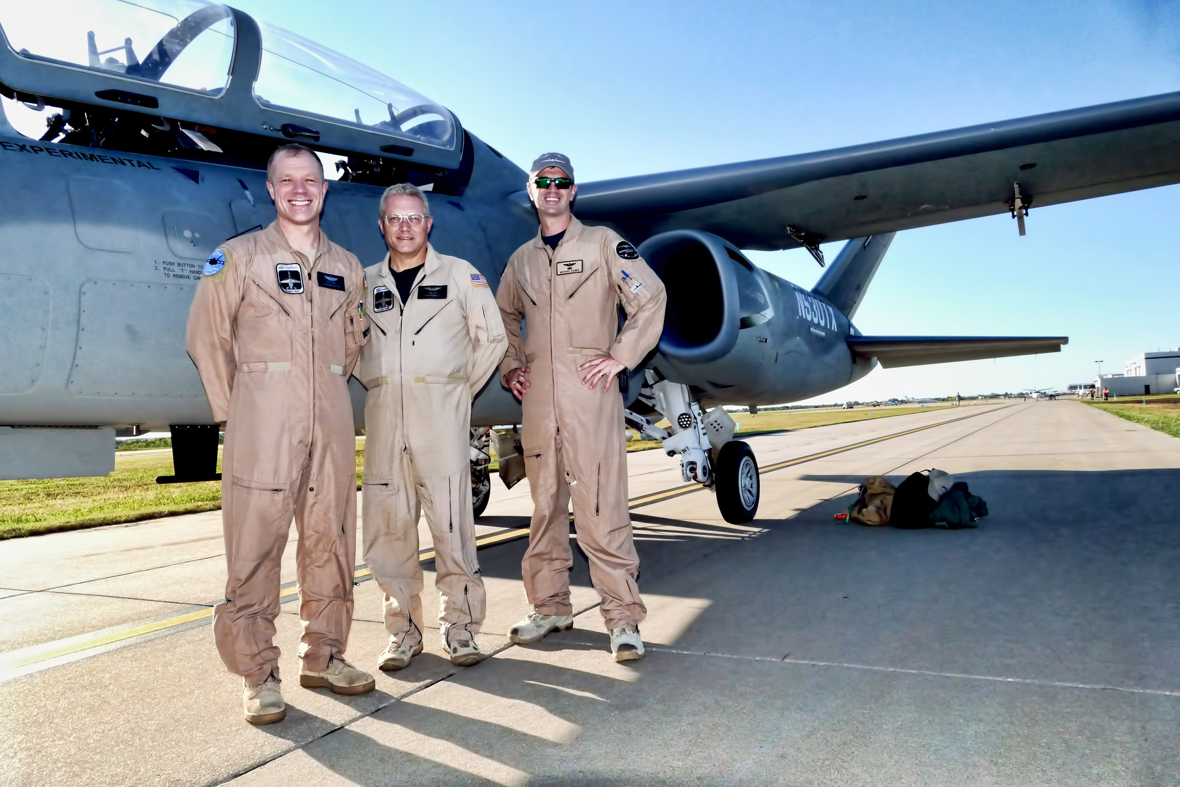SCORPION CREW AT EAA OCT 7