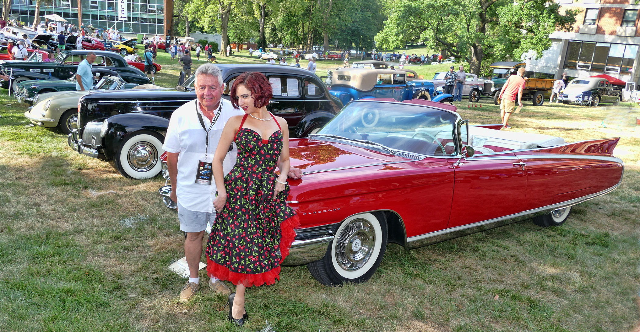 CADILLAC-RED-CONVERT-WITH-MODEL