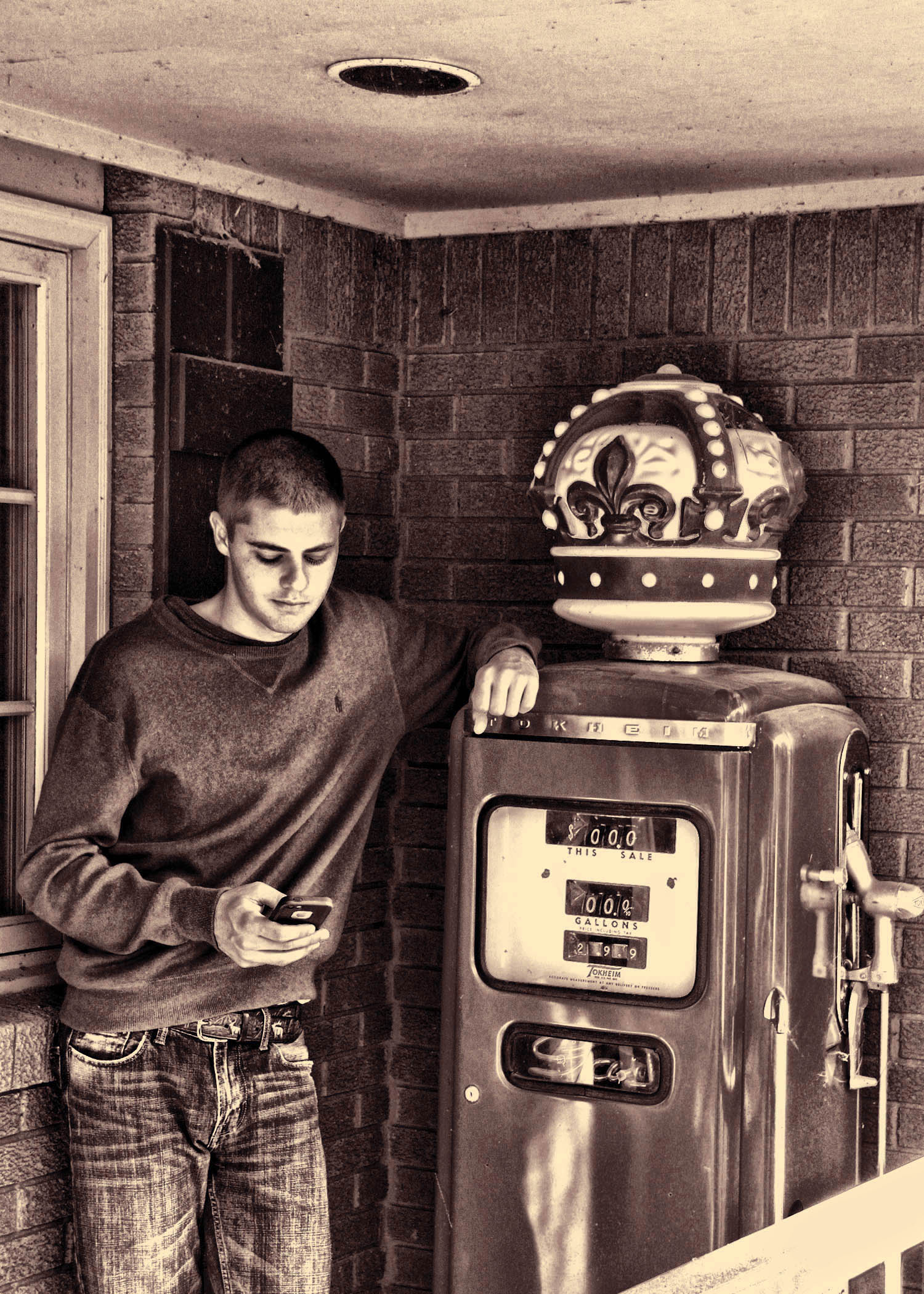BRUCE_15_NEXT_TO_GAS_PUMP_IN_SEPIA_FORMAT_copy